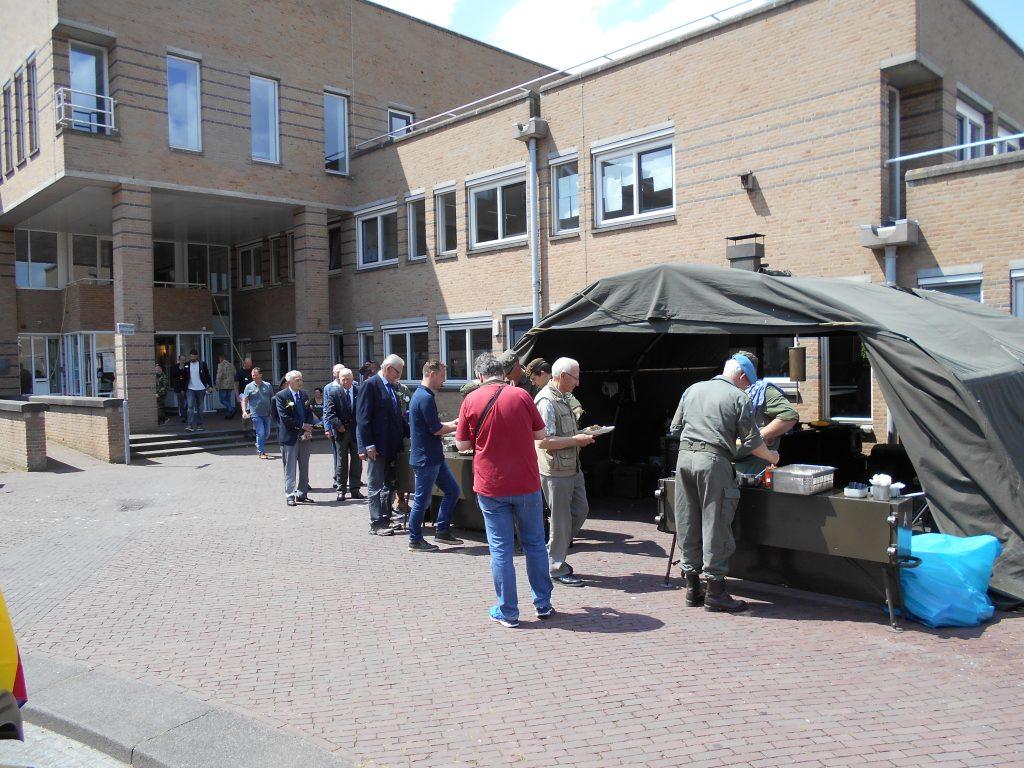 Ondersteuning DKO aan veteranendag Castricum